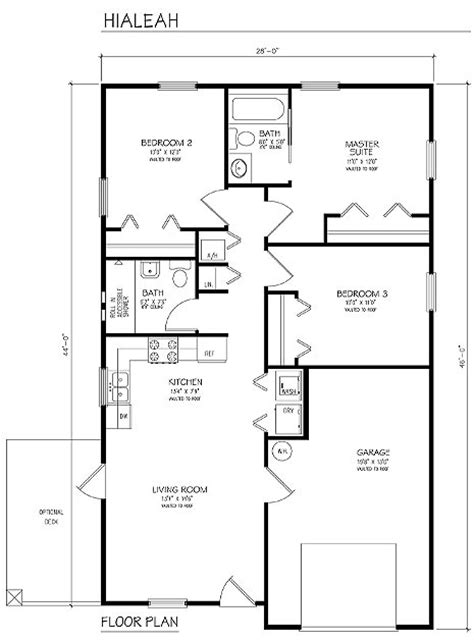 building floor plans building plans single family hialeah