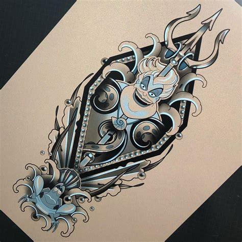 ursula tattoo ursula also up for grabs tattoos disney
