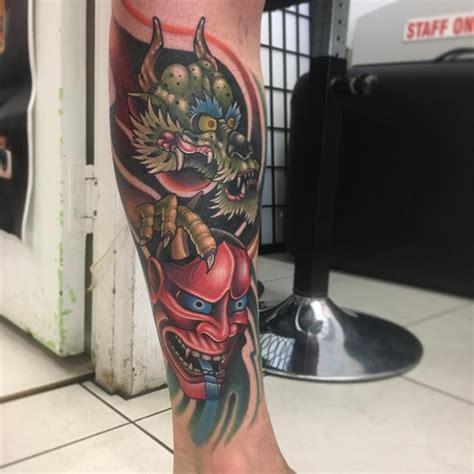 dragon leg tattoos for men 21 designs ideas design trends premium