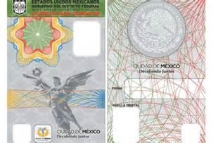 licencia de conducir mexico df nueva imagen de licencias en el df grupo milenio