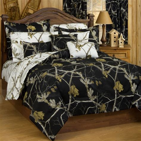 ap black and white camo queen comforter set free shipping