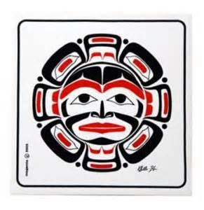 pacific northwest design haida salmon tattoos