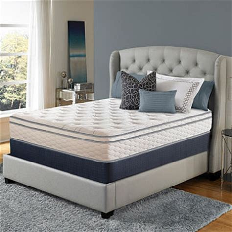 Serta Sleeper Cushion Firm Eurotop serta sleeper woodbriar ii cushion firm eurotop mattress set club sam s club