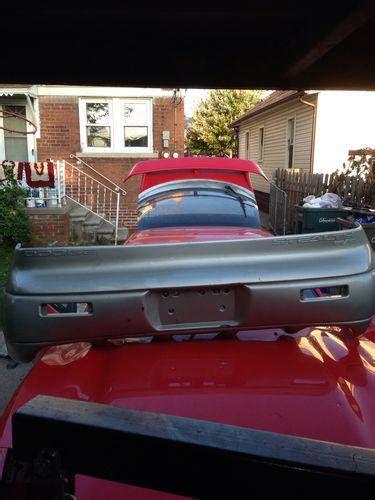 mitsubishi 3000gt silver find mitsubishi 3000gt stealth vr4 silver rear bumper