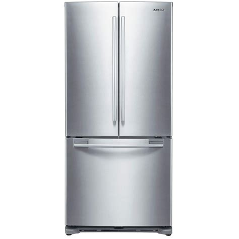 French Door Refrigerator With Dual Ice Makers - stainless steel refrigerator