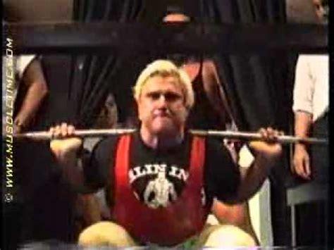 tom platz bench press caleb squat 500 lbs x 6 doovi