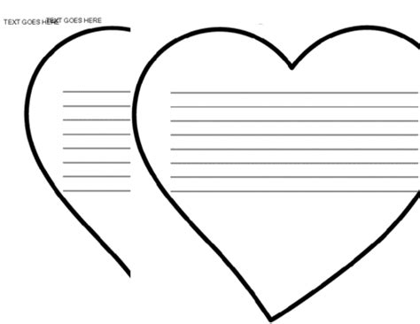 heart bulletin board template education world
