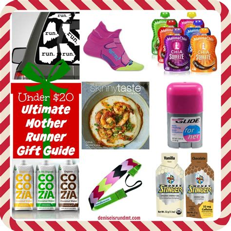 under 20 christmas gift ideas for runners run dmt