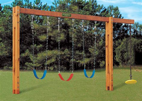 swing to freestanding swingset