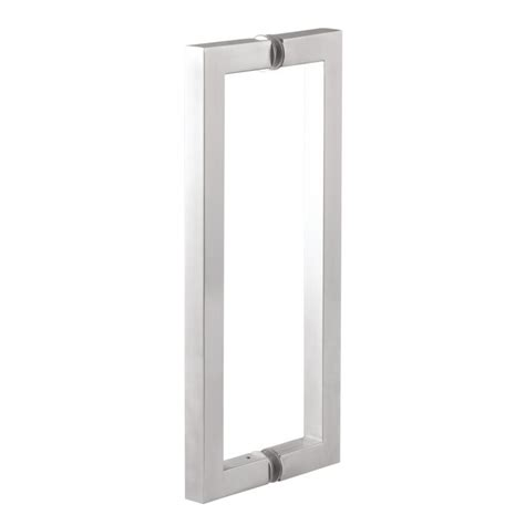 square glass door glass door pull handle square type 25mmx900mm ss304
