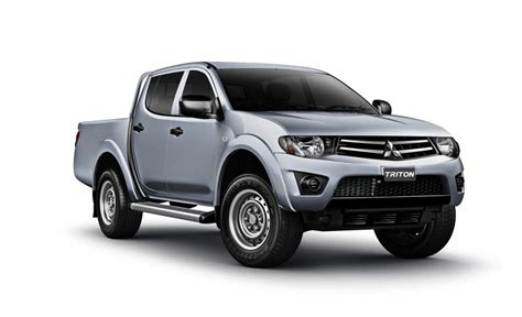 Mitsubishi Triton Pictures 2013 Mitsubishi Triton Updates Standard And Lowers Price