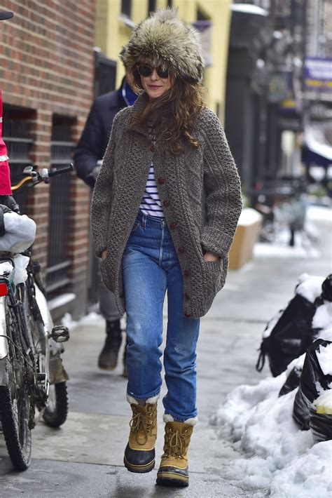 keri russell nyc keri russell winter in nyc 3 15 2017