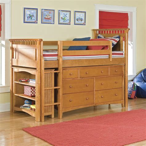loft bedroom furniture bolton bennington low loft bed with storage