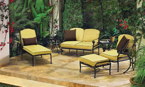 Verona Patio Furniture Collection Woodard Verona Wrought Outdoor Furniture Collection