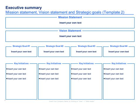 strategy document template mckinsey a simple strategic plan template by ex mckinsey