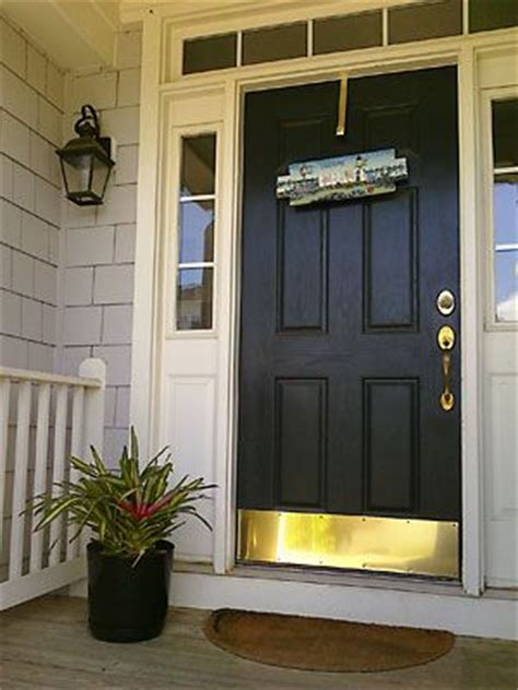 Kick Plates For Front Doors Front Door Kick Plate Front Porches