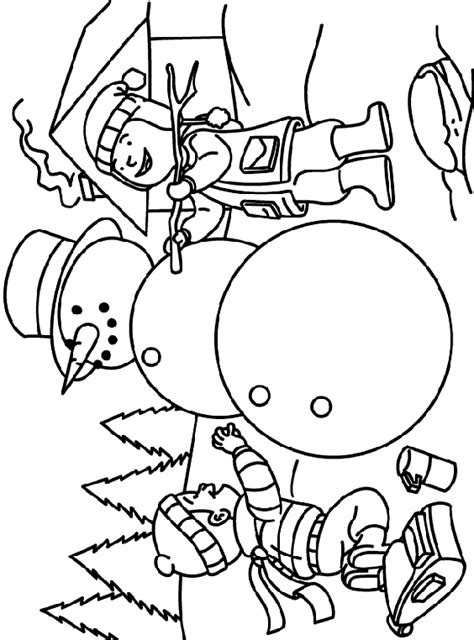 Snowman Coloring Pages Crayola   making a snowman coloring page crayola com