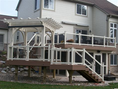deck arbor southeastern michigan custom pergolas timber structures