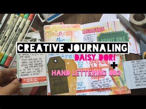 Creative Lettering Journaling Creative Journaling Dori Insert Lettering