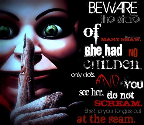 her a fabulously creepy 1780220022 beware the stare of mary shaw she had no children only dolls and if you see her do not