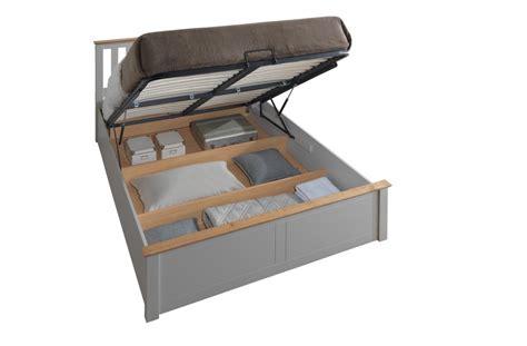 Ottoman Kingsize Bed Frame Pearl Grey Kingsize Ottoman Storage Bed Frame Kingsize Bed Frames Bed Frames