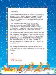 Father Christmas Letter Templates Free Father Christmas Letter Template Quotes Lol Rofl Com