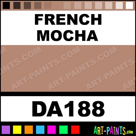 mocha americana foam and styrofoam paints da188 mocha paint mocha