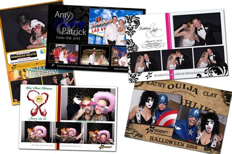 unique photo booth layout photo booth custom photo design all stars event services