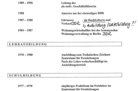 Lebenslauf Beispiel Wehrdienst Frau Klagt In Stuttgart Kein Arbeitsplatz F 252 R Ossi Stuttgart Stuttgarter Nachrichten