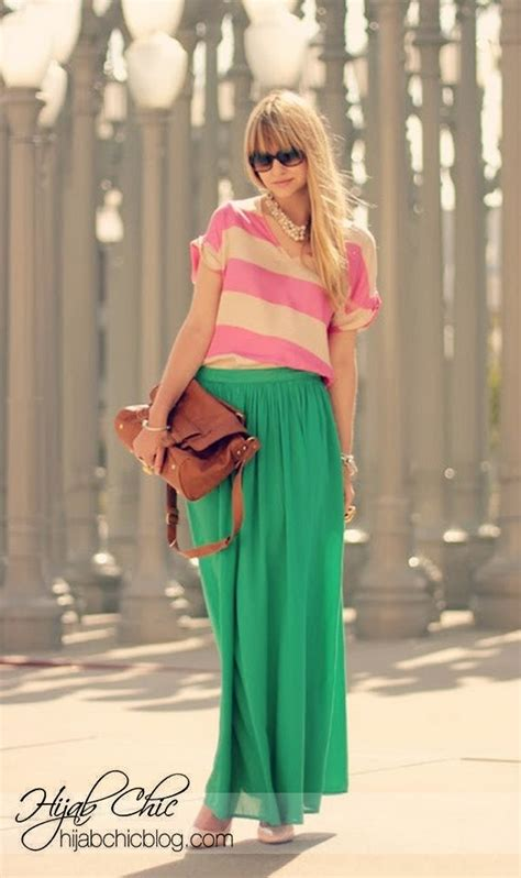 maxi skirts are still in