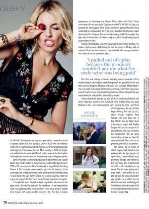 sienna miller in marie claire magazine october 2015 issue sienna miller marie claire south africa december 2015