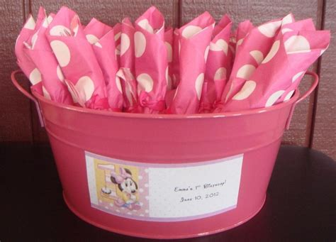 Rainbow Minny Roll quot rolled silverware for minnie mouse birthday