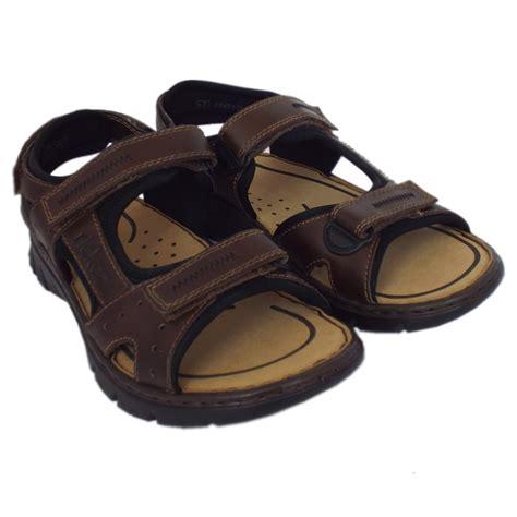 sports sandals uk rieker sandals basque mens sport sandal in brown leather
