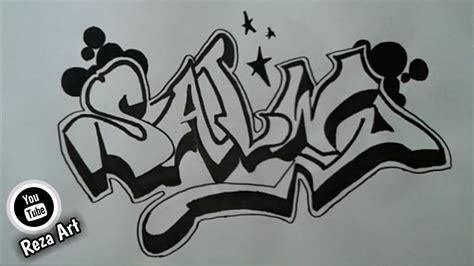 membuat nama grafiti salwa youtube