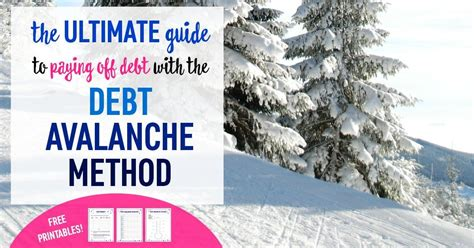 debt avalanche method  ultimate guide