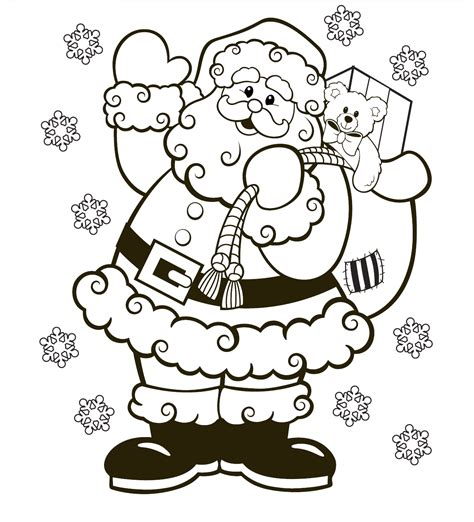 printable christmas colouring pages  organised housewife