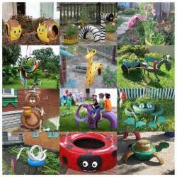 converting tires into creative things great recycle