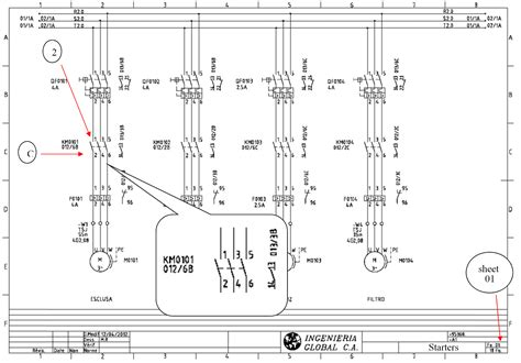 cross reference electrical drawings real