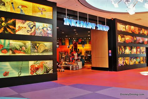 ink paint the of walt disney s animation disney editions deluxe entrance to ink paint shop gift shop disney s of