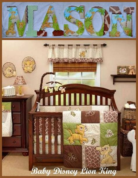 lion king crib bedding disney baby lion king inspired personalized customized