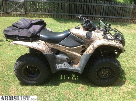 armslist for sale 2008 honda rancher 420 es 4x4 camo fs ft
