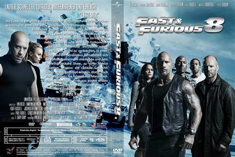 fast and furious 8 dvd fast furious 8 dvd cover labels 2017 r2 german custom