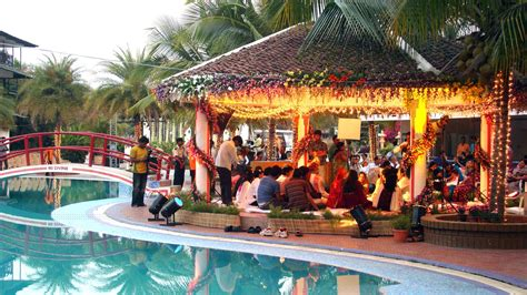 wedding resorts new poolside wedding venues in hyderabad the wedding of your