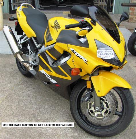 honda sports bikes 600cc sold another happy customer 2006 cbr f4i 600cc used