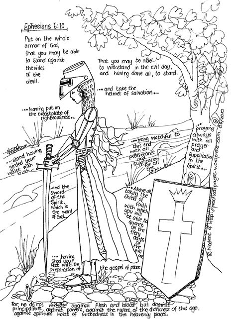 armor of god coloring pages armor of god practical pages