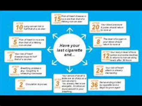 Signs Of Detoxing From Nicotine by Nicotine Withdrawal Timeline