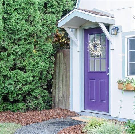 build  gable roof   front door joyful