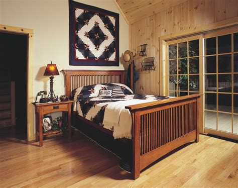 Mission Style Bedroom Set by Mission Style Oak Bedroom Furniture Craftsman Bedroom