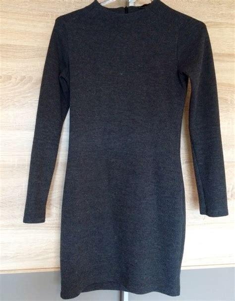 Robe En Pull Zara - robe pull grise zara vinted fr