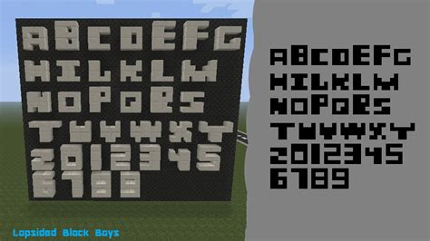 printable minecraft letters image gallery minecraft alphabet